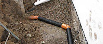 halmstad trädgårdsanläggning dränering källargrund